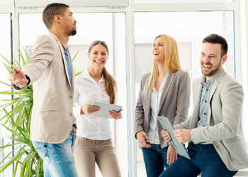 Iniciar uma comunicação em algumas condições gerais de trabalho.